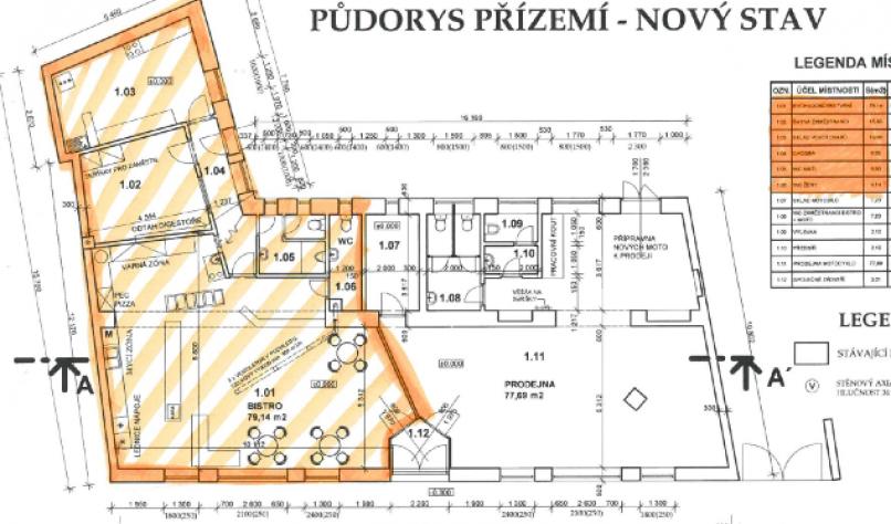 Měšťanská 177, Hodonín, 69501, 3 Rooms Rooms,Komerční prostor,K pronájmu,Měšťanská 177,1036